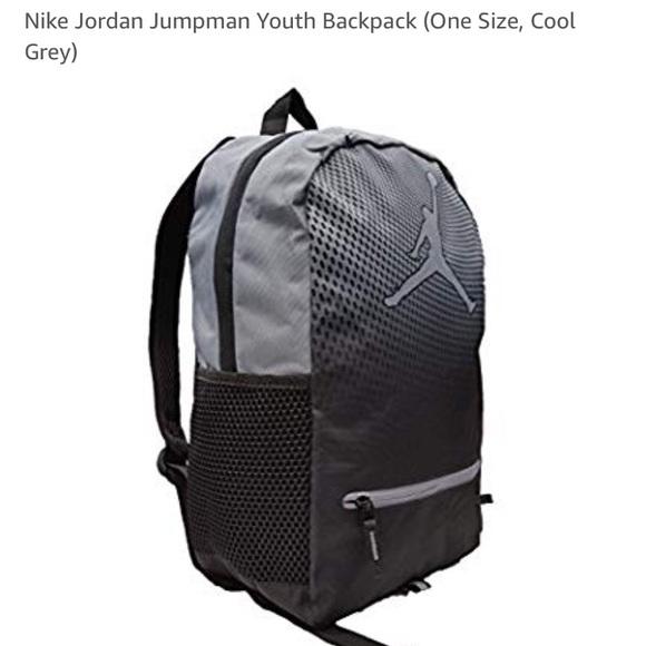 ff5d9661d1e1 Nike Jordan Jumpman Youth Backpack (Cool Grey)